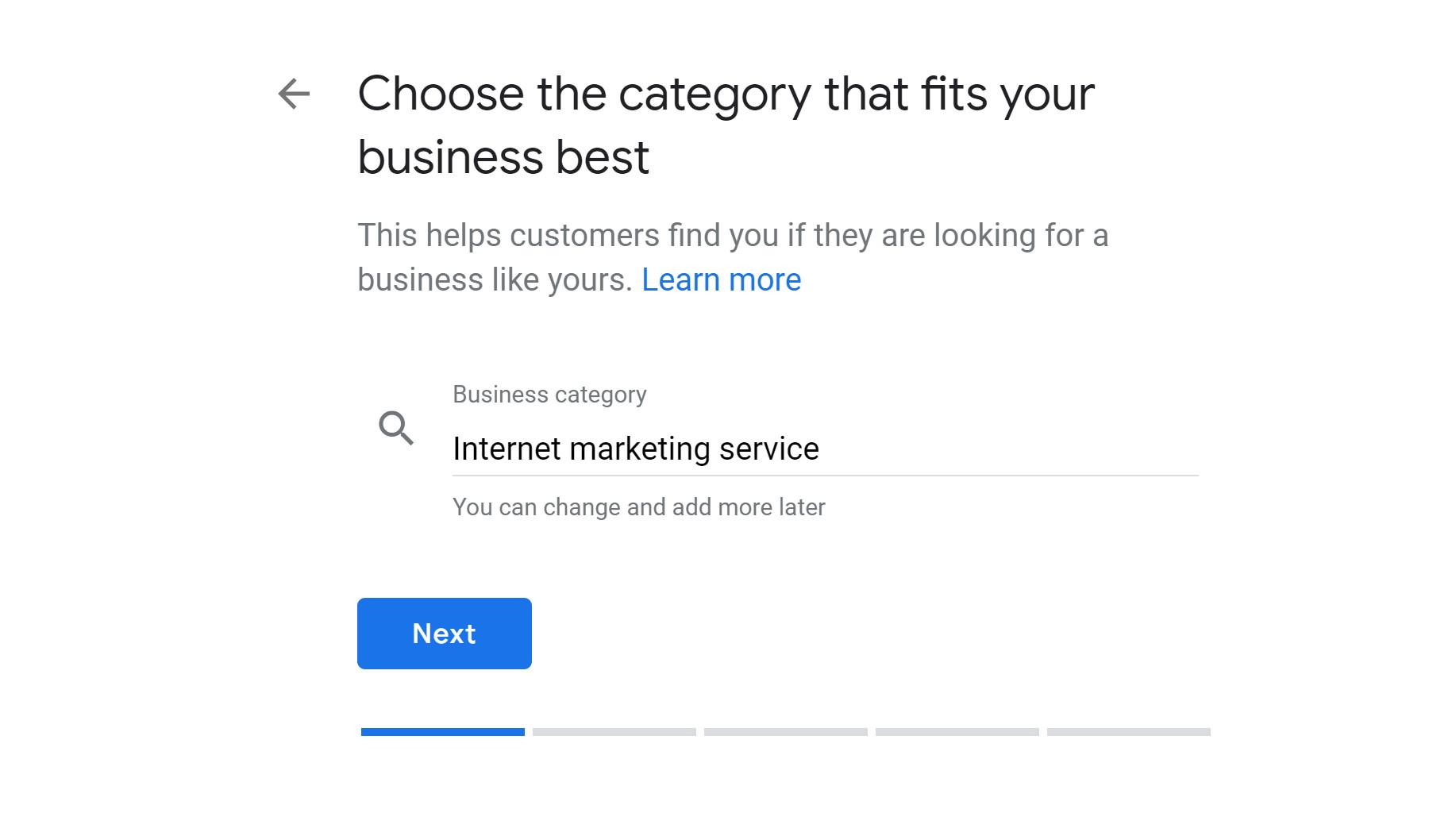 step 3b - verify google my business