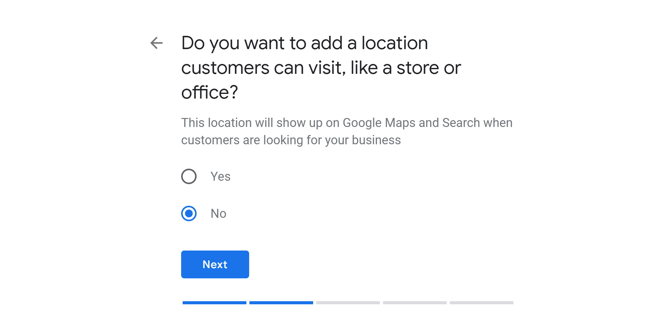 step 3c - verify google my business