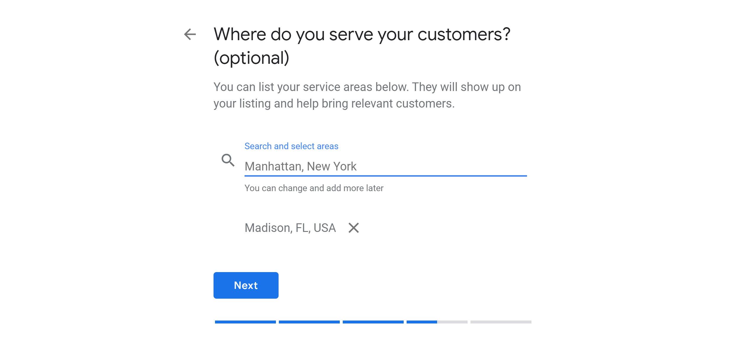 step 3d - verify google my business