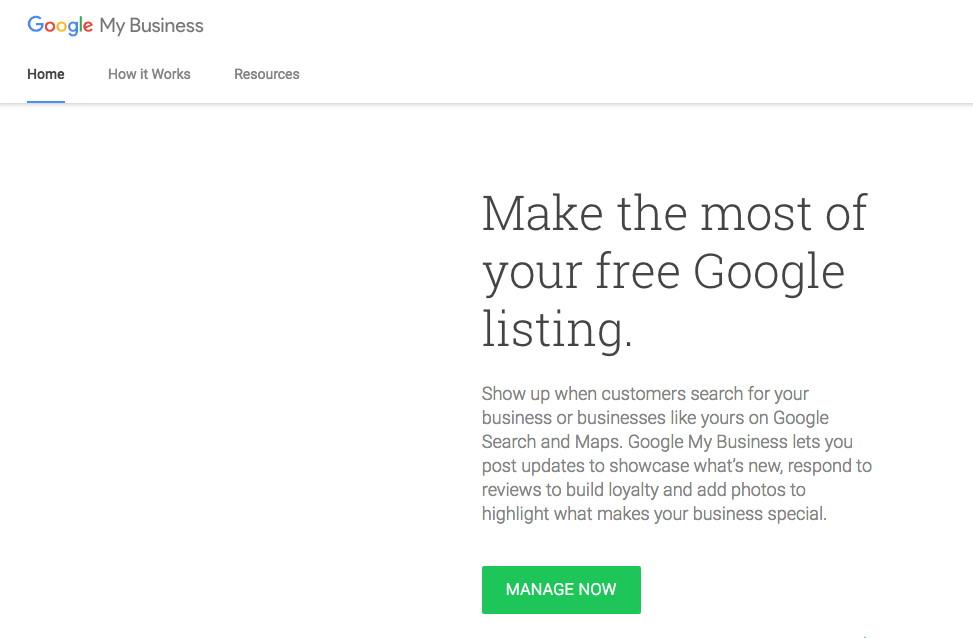 step 1 - verify google my business