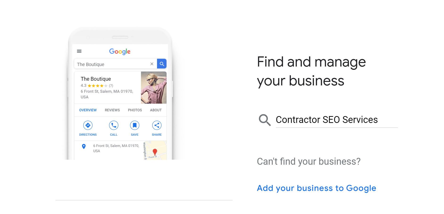 step 3 - verify google my business